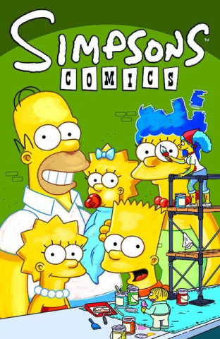 Simpsons Comics #182