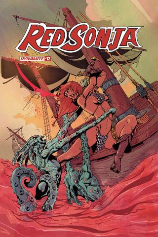 Red Sonja #12 (Castro Bonus Cover)