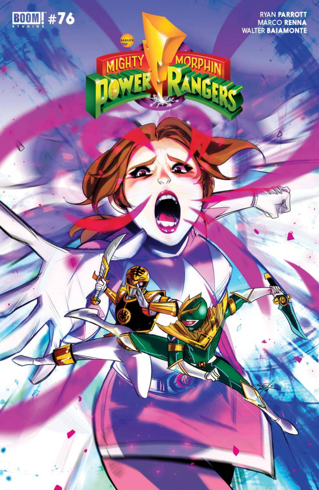 Mighty Morphin #11 (Legacy Carlini Cover)