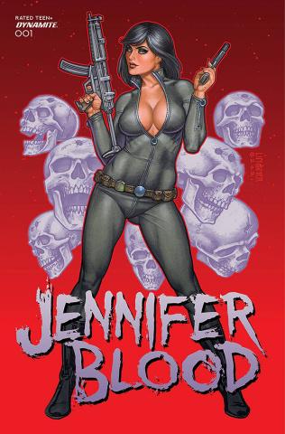 Jennifer Blood #1 (Linsner Cover)