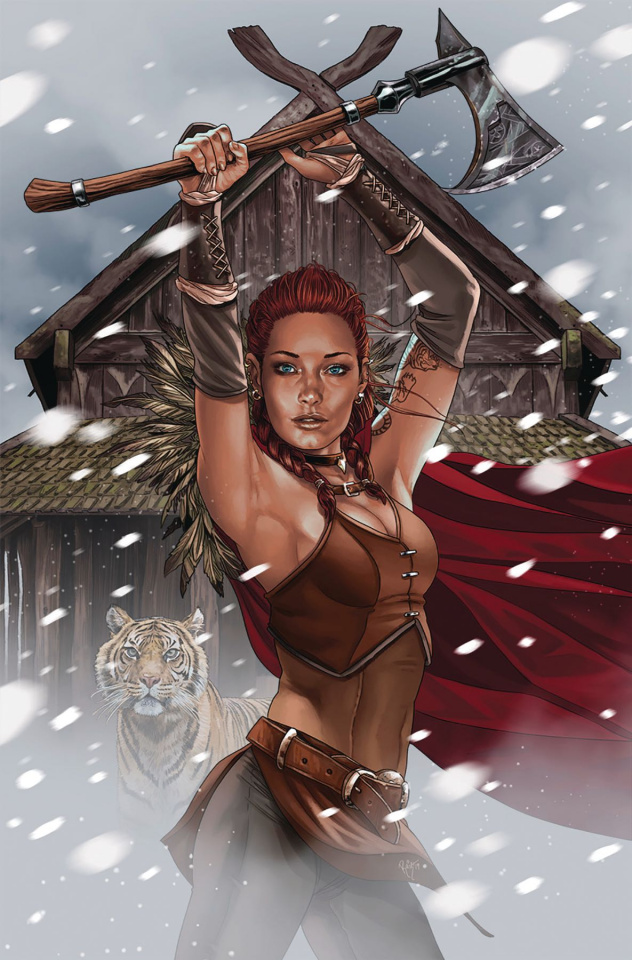 Dragonsblood #4 (Burgos Cover)