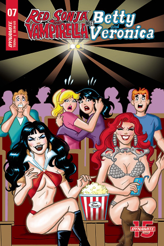 Red Sonja and Vampirella Meet Betty and Veronica #7 (Parent Cover)