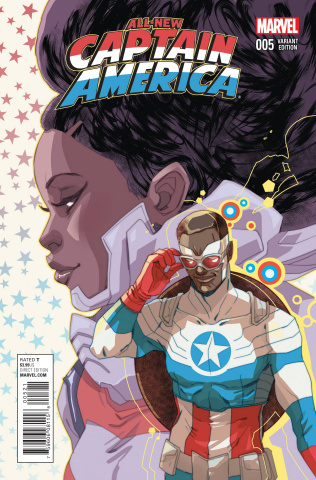 All-New Captain America #5 (Women of Marvel Sauvage Cover)