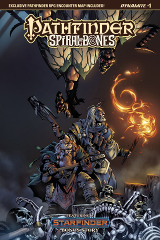 Pathfinder: Spiral of Bones #1 (Lau Cover)