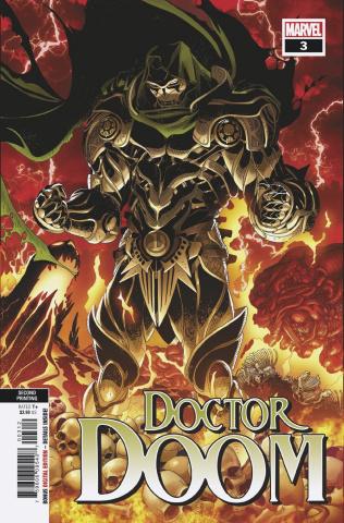 Doctor Doom #3 (2nd Printing)