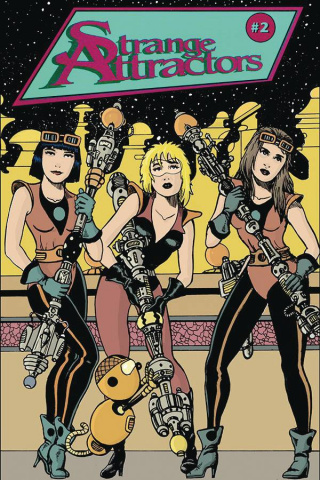 Strange Attractors #2 (Retro Variant Cover)