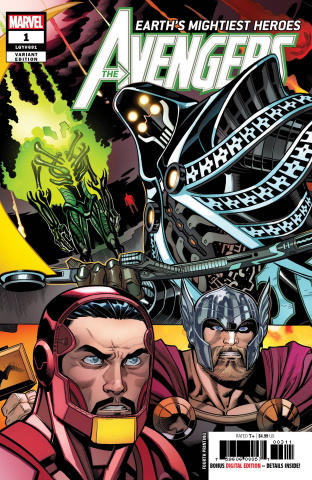 Avengers #1 (McGuinness 4th Printing)