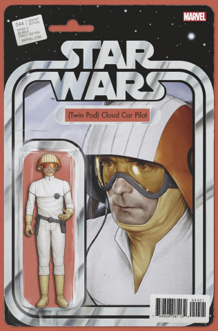 Star Wars #44 (Christopher Action Figure Cover)
