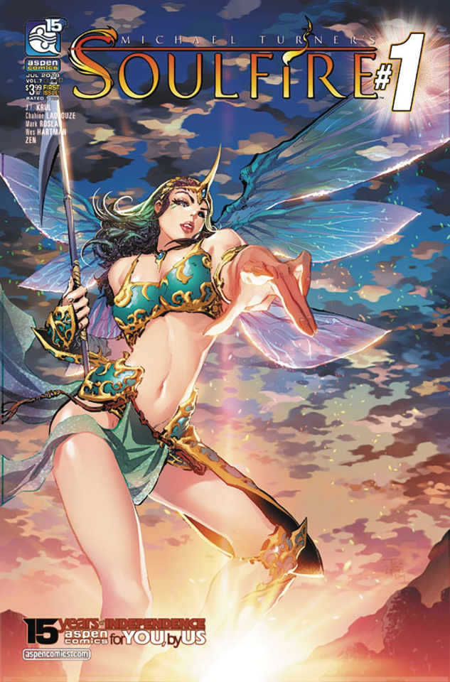 Soulfire #1 (Tan Cover)