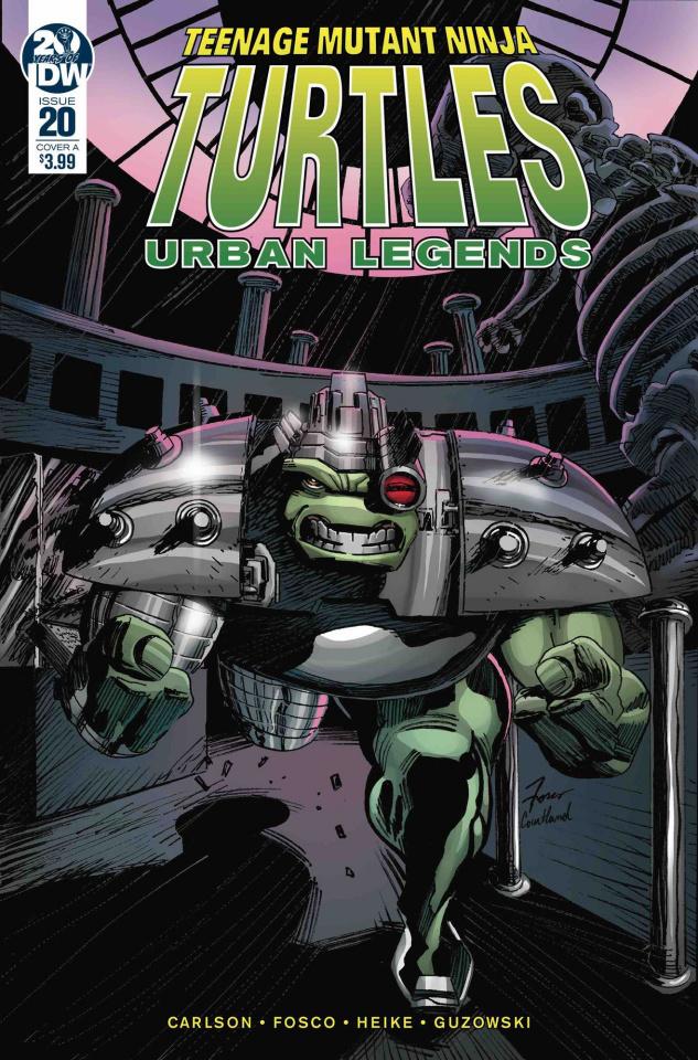 Teenage Mutant Ninja Turtles: Urban Legends #20 (Fosco Cover)