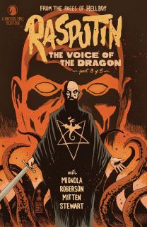 Rasputin: Voice of the Dragon #3 (Francavilla Cover)