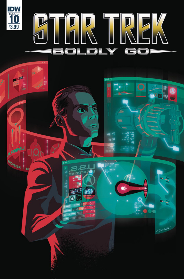 Star Trek: Boldly Go #10 (Caltsoudas Cover)