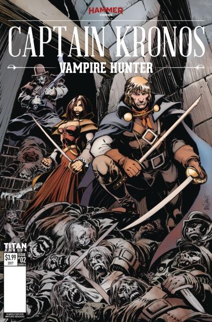 Captain Kronos #2 (Mandrake Cover)