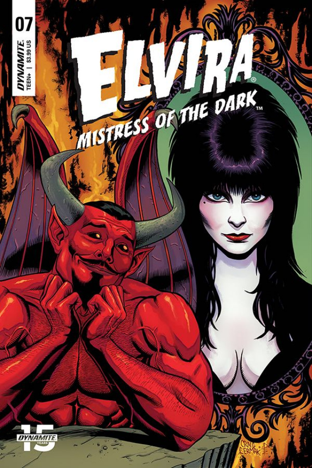Elvira: Mistress of the Dark #7 (Cermak Cover)