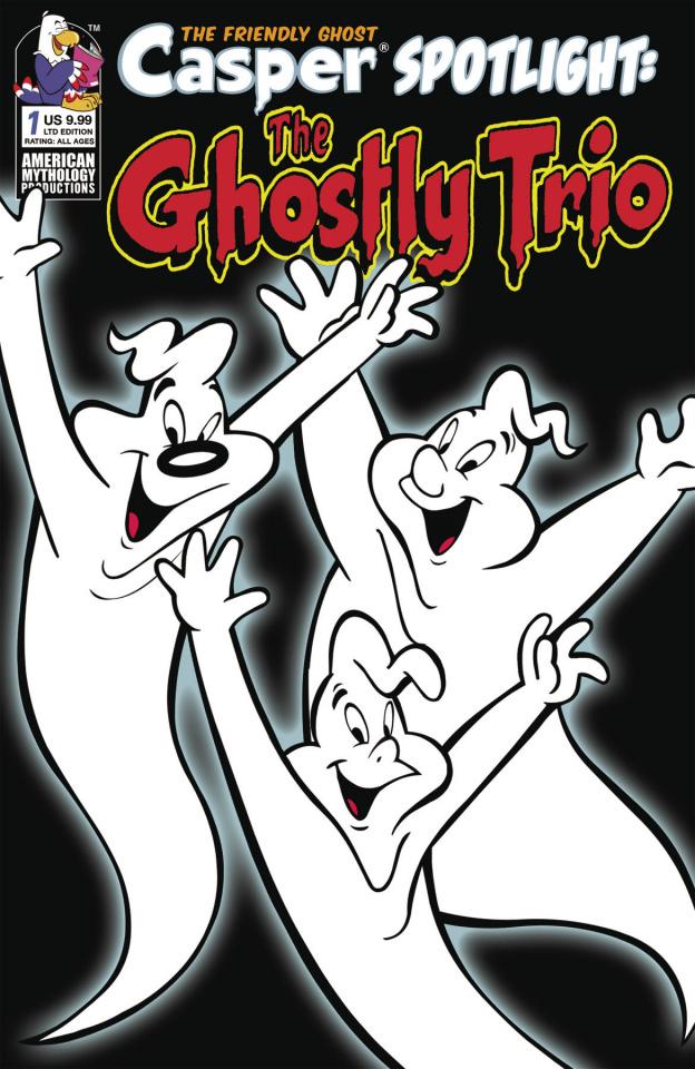 Casper Spotlight: The Ghostly Trio #1 (Retro Animation Cover)
