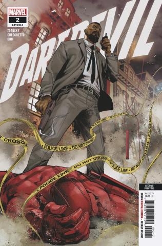 Daredevil #2 (Checchetto 2nd Printing)