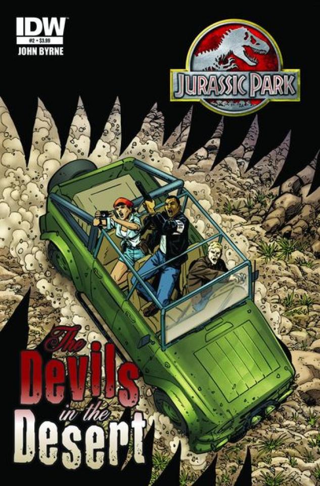 Jurassic Park: Devils in the Desert #2