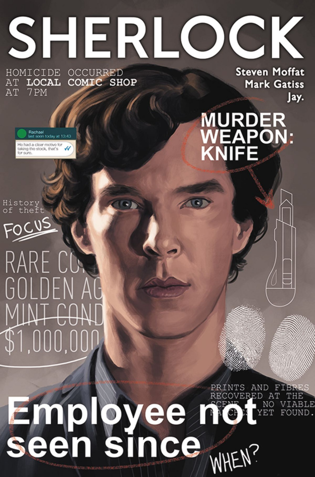 Sherlock: The Blind Banker #1 (Laclaustra Cover)