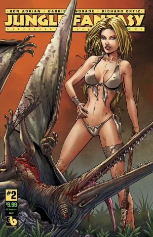 Jungle Fantasy: Ivory #2 (Huntress Cover)