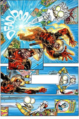 Deadpool #11 (Koblish Secret Comic Cover)