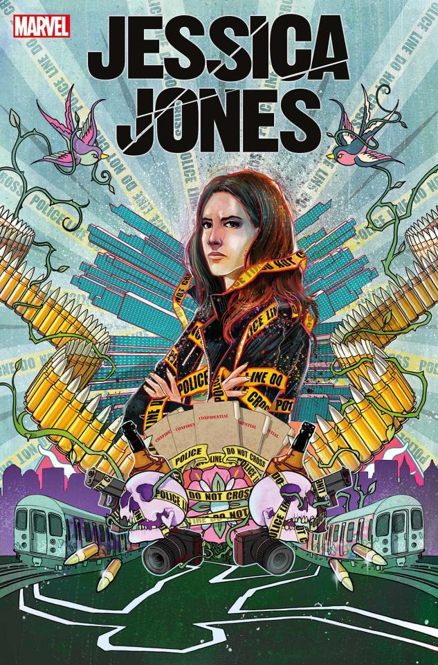 Jessica Jones: Blind Spot #1 (Simmonds Cover)
