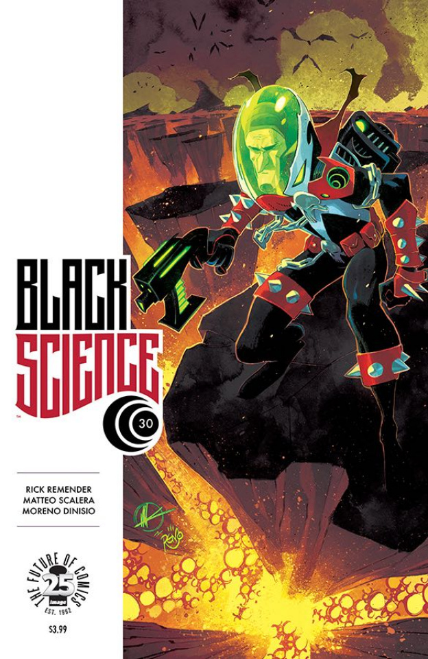 Black Science #30 (Spawn Month Cover)