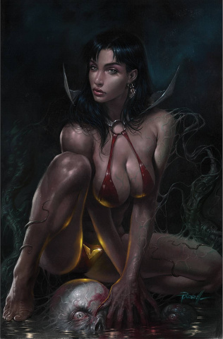 Vengeance of Vampirella #23 (Parrillo Virgin Cover)