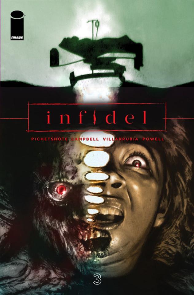 Infidel #3 (Campbell & Villarrubia Cover)