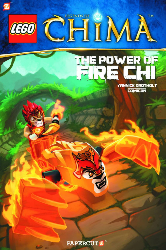 Lego: Legends of Chima Vol. 6: Playing With Fire