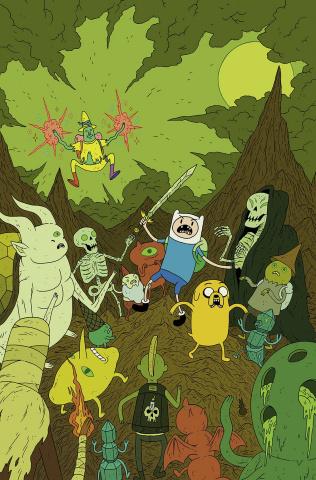 Adventure Time #38 (20 Copy Burney Cover)