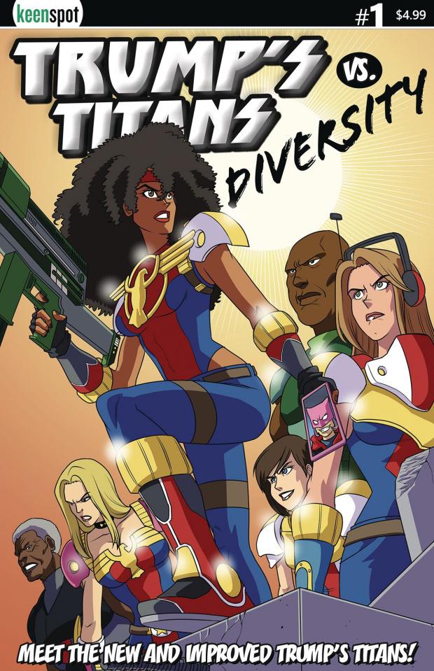 Trump's Titans vs. Diversity #1 (New Team Cover)