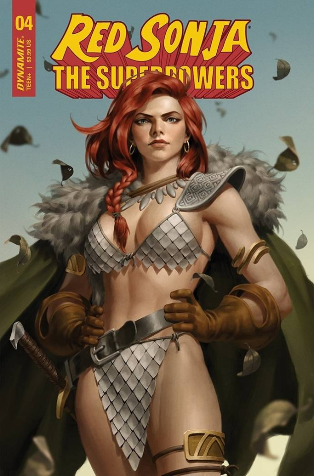Red Sonja: The Superpowers #4 (Yoon Cover)