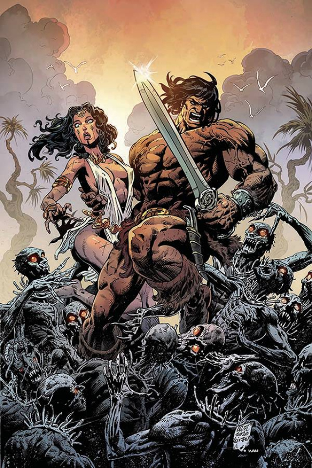 The Cimmerian: Iron Shadows in the Moon #1 (10 Copy Level Virgin Cover)