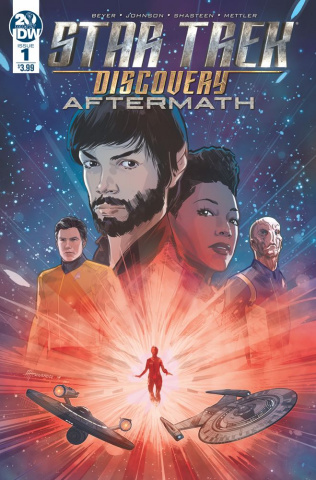Star Trek Discovery: Aftermath #1 (Hernandez Cover)