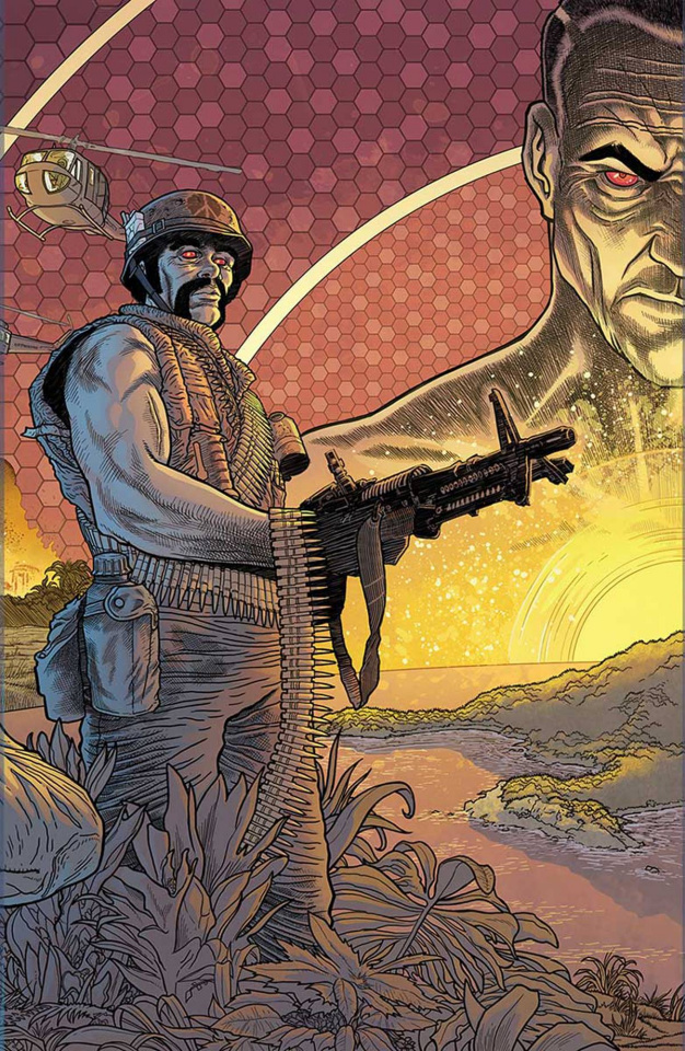 Bloodshot: Reborn #15 (10 Copy Interlock Bodenheim Cover)