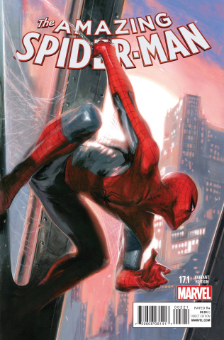 The Amazing Spider-Man #17.1 (Dell'Otto Cover)