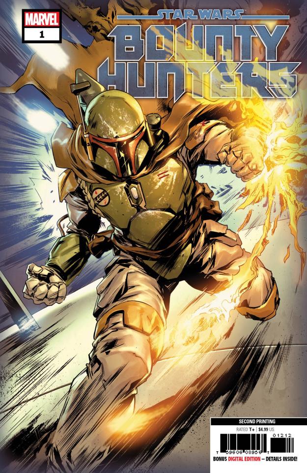 Star Wars: Bounty Hunters #1 (2nd Printing)
