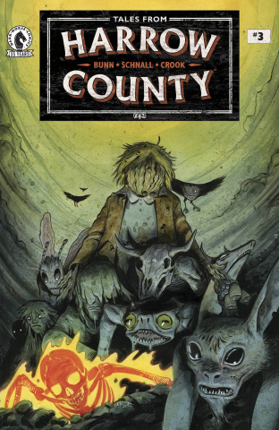 Tales From Harrow County: The Fair Folk #3 (Crook Cover)