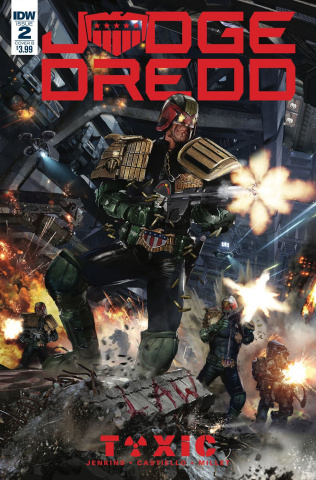 Judge Dredd: Toxic #2 (Gallagher Cover)