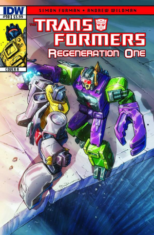 The Transformers: Regeneration One #90