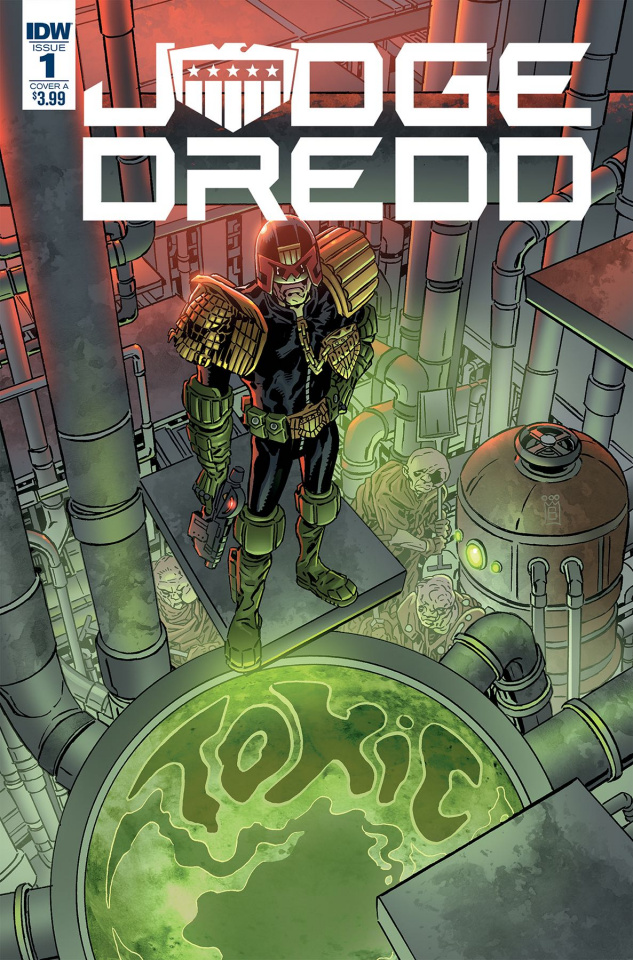 Judge Dredd: Toxic #1 (Buckingham Cover)