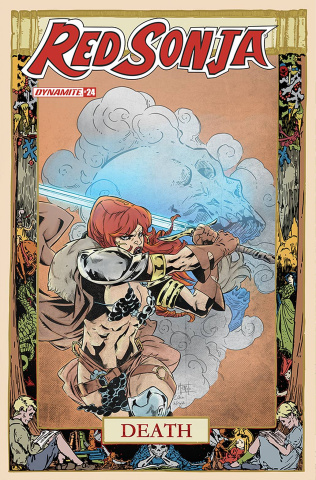 Red Sonja #24 (7 Copy Miracolo Cover)