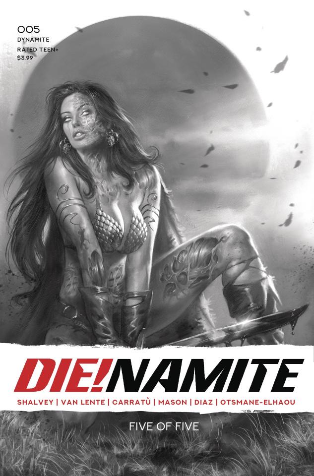 DIE!namite #5 (45 Copy Parrillo Living Dead Cover)
