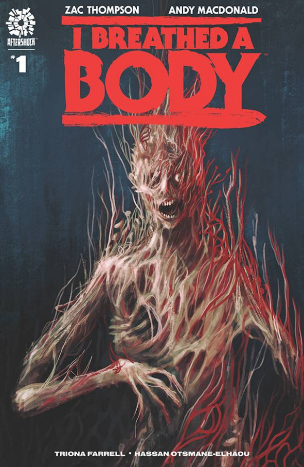 I Breathed a Body #1 (15 Copy Trevor Henderson Cover)