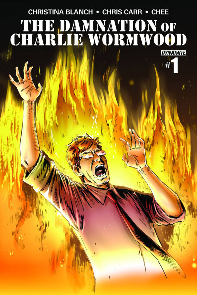 The Damnation of Charlie Wormwood #1 (10 Copy Chee Cover)