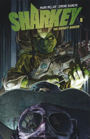 Sharkey, The Bounty Hunter #6 (Bianchi Cover)