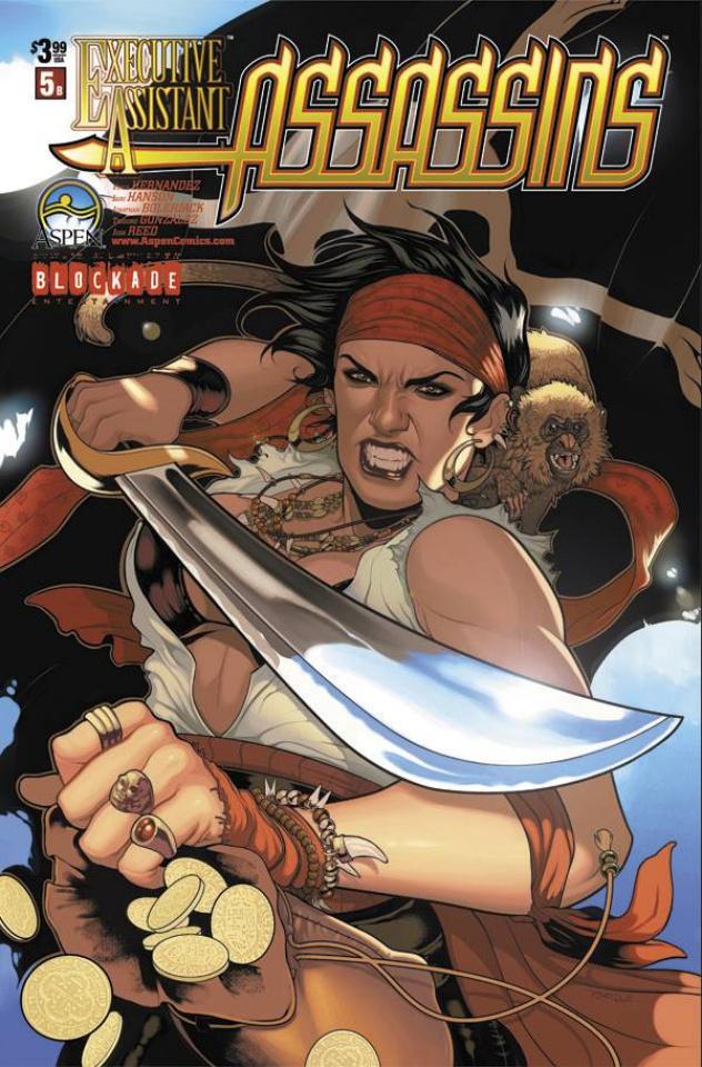Executive Assistant: Assassins #5 (Torque Cover)