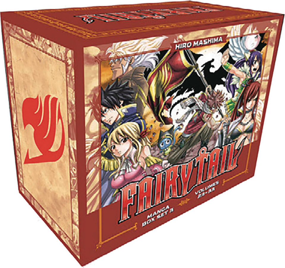 Fairy Tail Vol. 4 (Box Set)