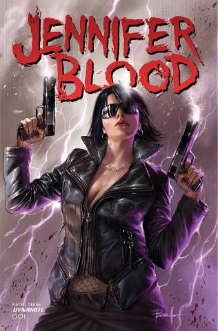 Jennifer Blood #1 (Parrillo Cover)