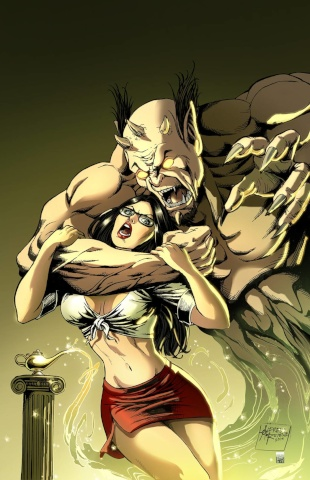 Grimm Fairy Tales #102 (Reyes Cover)